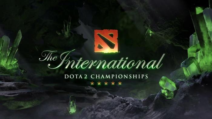 ein Zeichen von The International, der größte Dota 2 Wettbewerb, großes Preisgeld