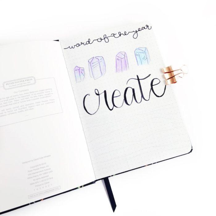 bullet journal key deutsch, diy ideen zum inspireren und entlehnen, kreative tagebuch gestaltung