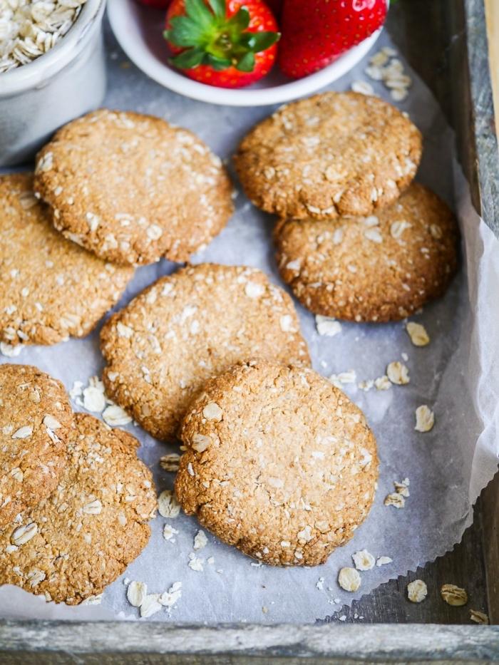 gesunde kkese mit haferflocken, fingerfood rezepte einfach, picknick essen ideen