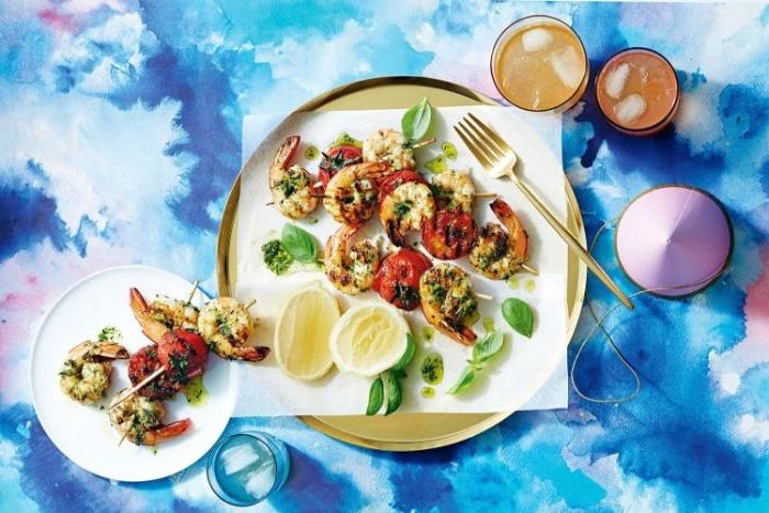 gesunde rezepte einfach zubereiten, kreatives design von der speise, essen fotografie