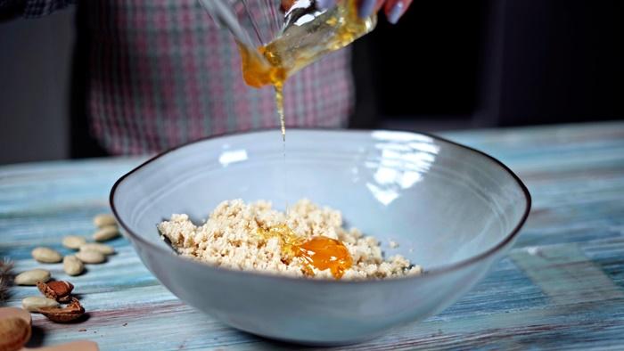 gesunde snacks für unterwegs leckere marzipanbällchen selber machen marzipankugeln rezept