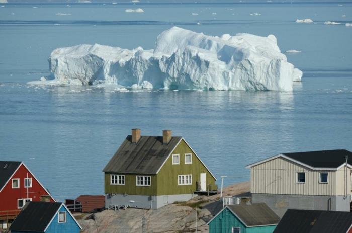 Eis in Grönland schmilzt, bald treffen wir eine Naturkatastrophe, will Trump das kaufen
