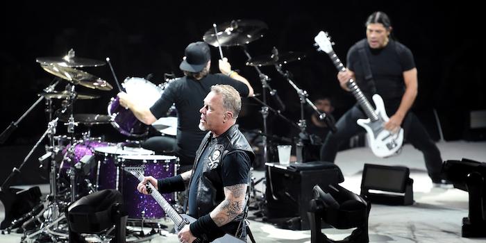 Die legendäre Band Metallica bot ihren Fans in Bukarest ein unvergessliches Erlebnis