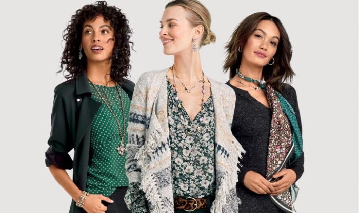 mode versand für frauenmode, bunte trends muster ideen dezent und spielerisch