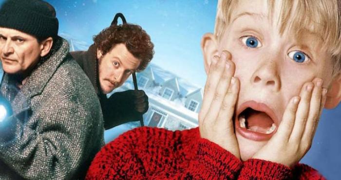 Kevin - Allein zu Haus, ein Junge schreit zwei Einbrecher wollen das Haus rauben