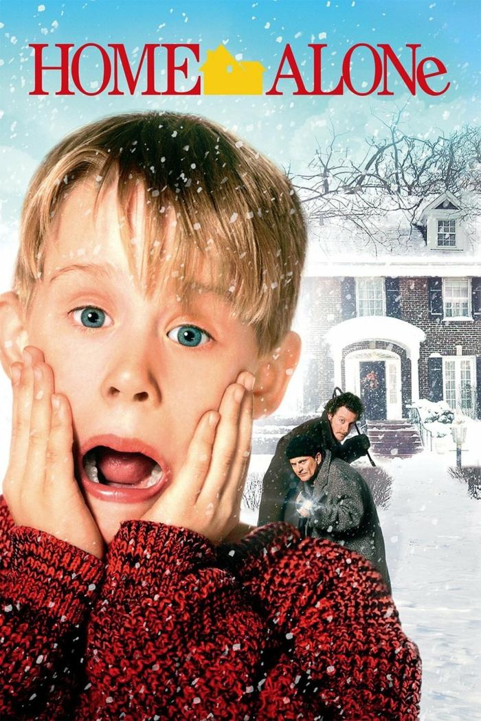 Kevin - Allein zu Haus, ein Poster von dem Film, der 1990 erschienen ist