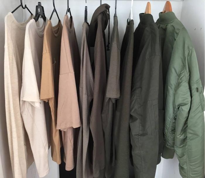französische mode online shop, mode trends, fashion garderobe in nude nuancen, grün, beige