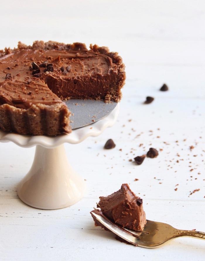 käsekuchen ohne backen, cheesecake mit schokolade, schokodenkuchen rezept, schokokuchen