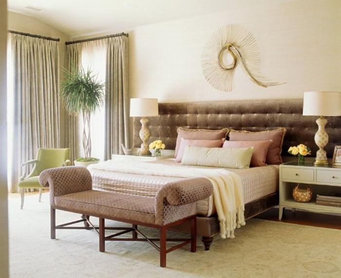 deko schlafzimmer, kreativ, naturgebunden, deko elemente im zimmer, raumgestaltung kreativ