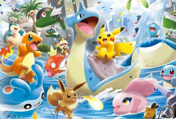 ein süßes Bild von allen Pokemon, die man auf Pokemon Go fangen kann