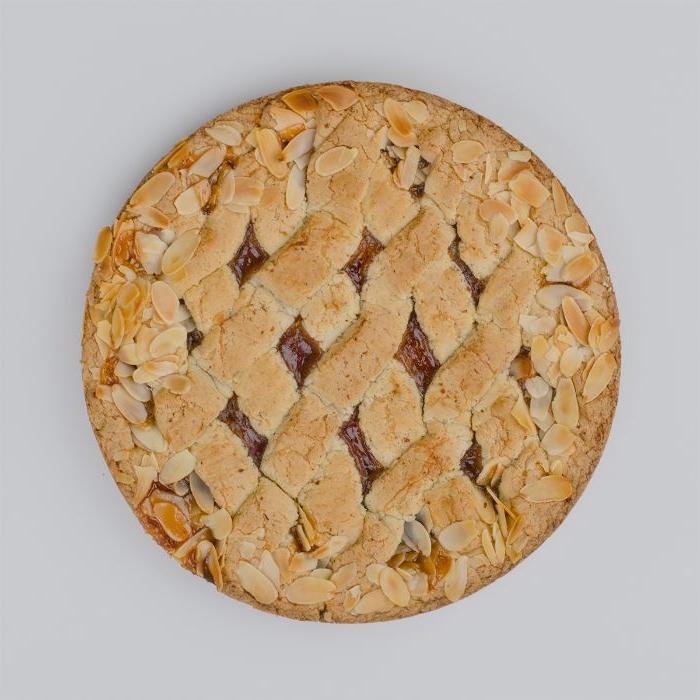 klassische linzer torte so soll sie aussehen, torte rezept ideen mandeln und teig