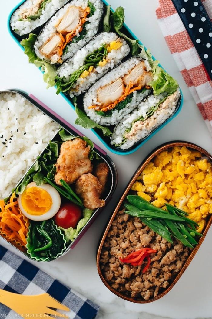 was soll ich kochen, hackfleisch mit eier, erbsen, essen zum mitnehmen selber zubereiten und mitbringen