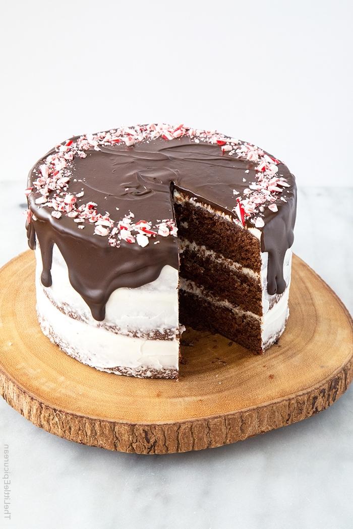 torte mit schokoaldenboden, schoko mascarpone torte, dripping cake, schokoaldeganache