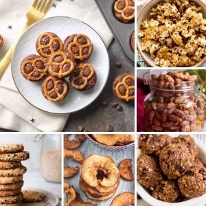 94 Ideen für gesunde Snacks für unterwegs!