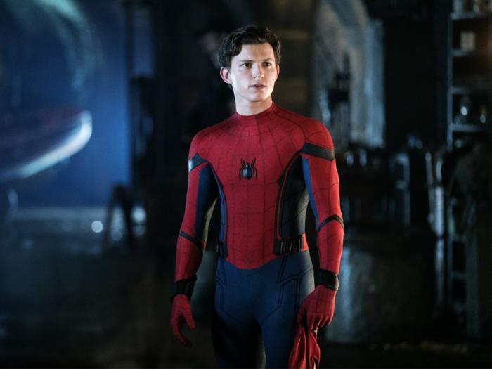 Spiderman ohne seine Maske, er ist traurig Marvel Cinematic Universe zu verlassen