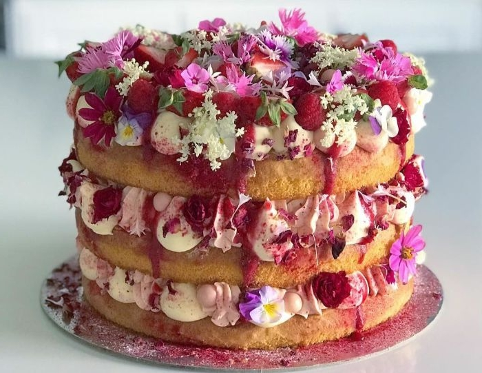 klassische linzer torte und andere tortenideen, internationale süßigkeiten, schöne tortengestaltung