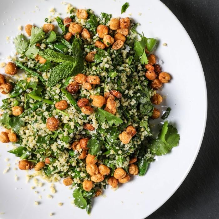 rezete ohne fleisch, was koche ich heute vegetarisch, quinoa mit spinat und bohnen, pfefferminze