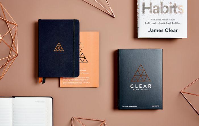 bullet journal notizbuch dotted, fertige bücher kaufen, bunte designs, minimalismus