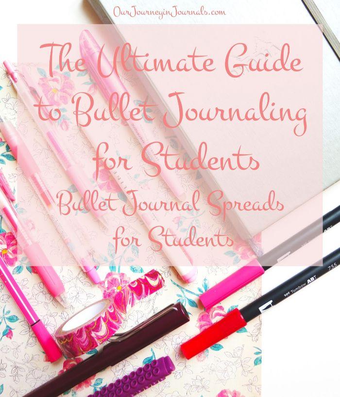 bullet journal notizbuch dotted, nuancen vom rosa, dekorationen auf einem heft, anleitung so wird bu jo gemacht