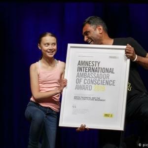 """Amnesty-Preis für Greta Thunberg und ihre Bewegung """"Fridays for Future"""""""