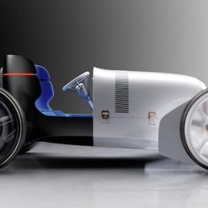Das Konzept für das neue Vision Mercedes Simplex