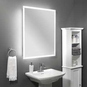 Integrierte Beleuchtung im Badezimmer: LED Spiegel