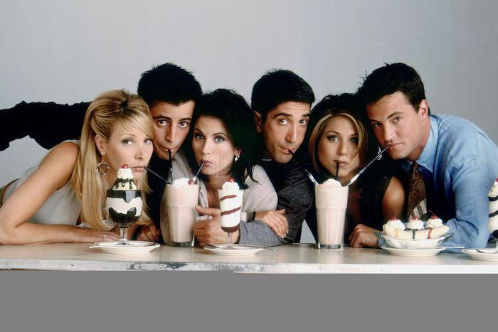 "Die populären sechs Freunde trafen sich am 22 September 1994 zum ersten Mal im New Yorker Café ""Central Perk"""