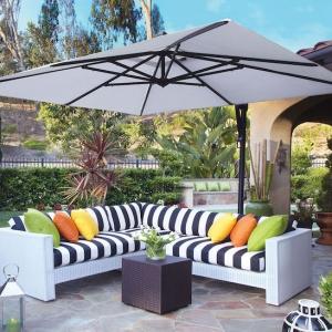 Der Sonnenschirm - ein Must-Have in jedem Garten