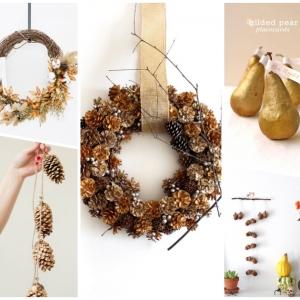 Herbstdeko aus Naturmaterialien selber machen: 81 tolle Ideen und DIY-Anleitungen