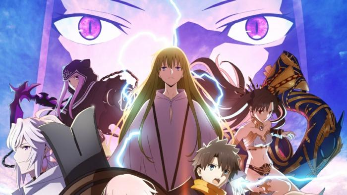 ein Spiel, das durch Sony Funimation verbreitet wird, nach der Vereinigung mit Aniplex