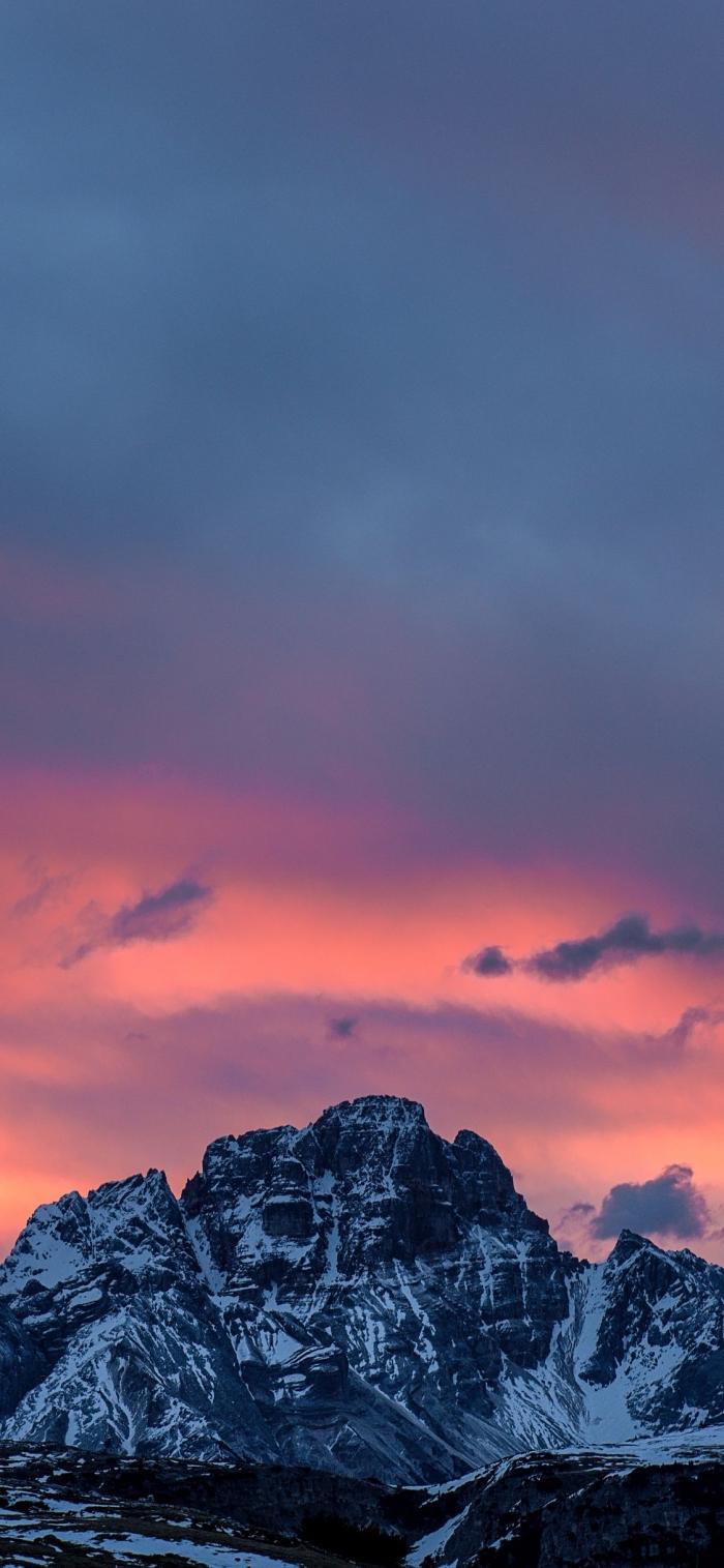 apple hintergrund de besten ideen, gebirge, spitze mit schnee, himmel, herrliche landschaft