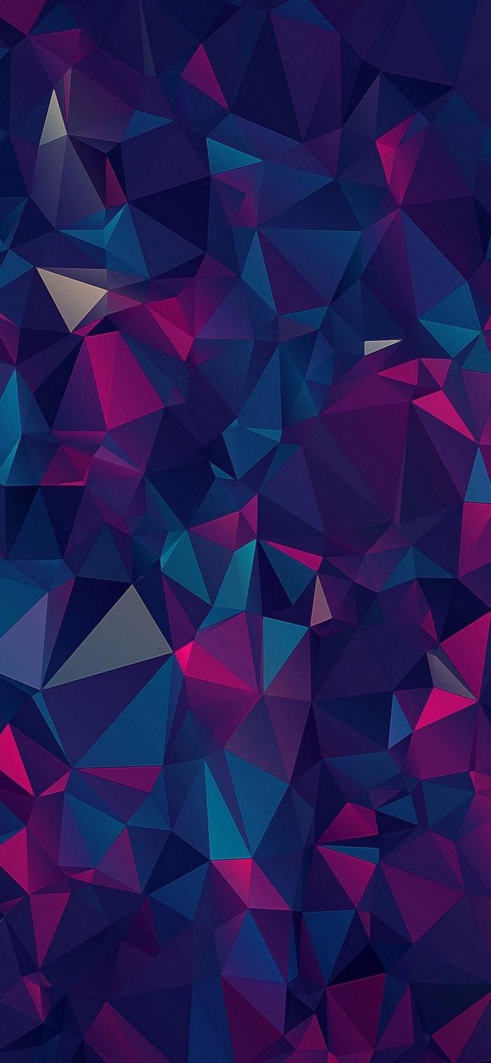 apple hintergrund, geometrische figuren, 3d wallpaper frei herunterladen, iphone x background
