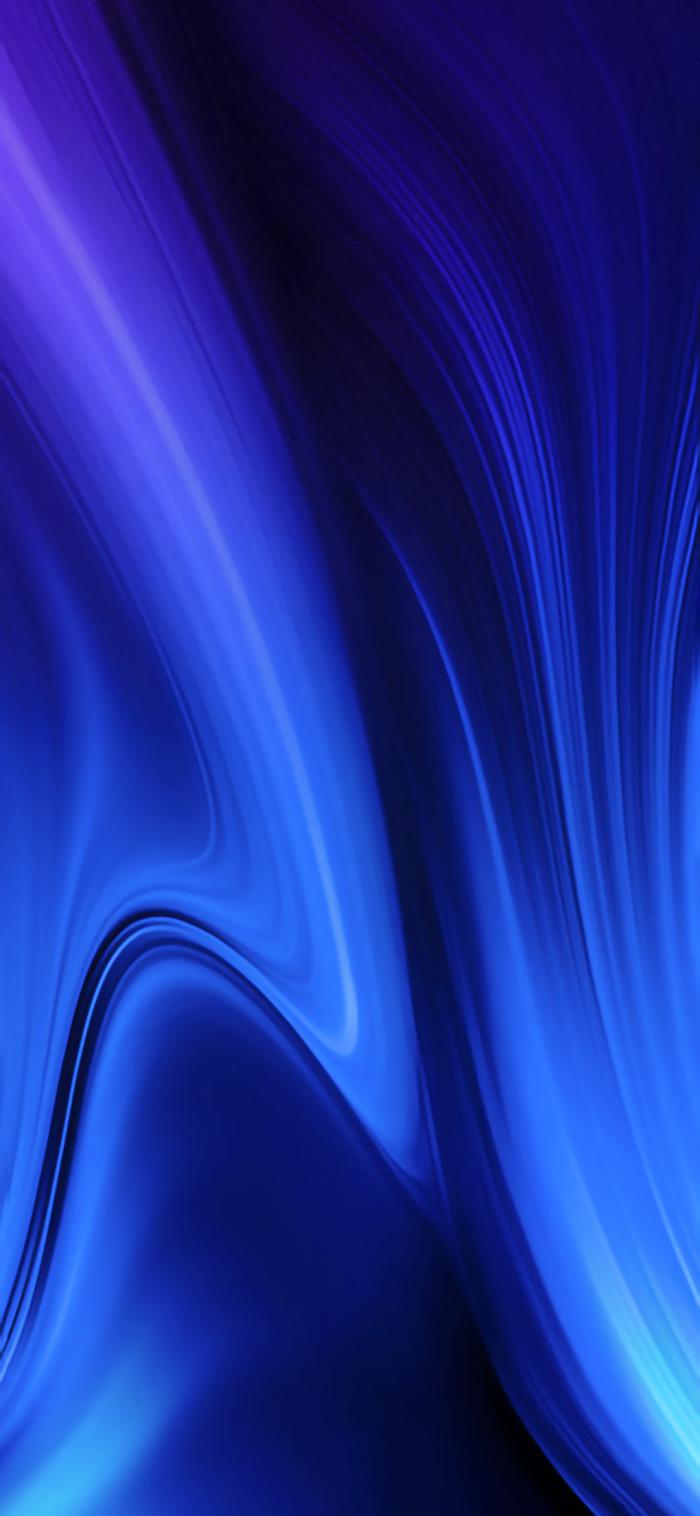 apple hintergrund in blau und schwarz, iphohe wallpeper frei herunterladen, licht