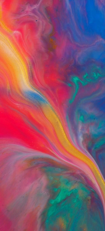 apple hintergrund, wallpaper fürs handy frei herunterladen, geschmolzene farben