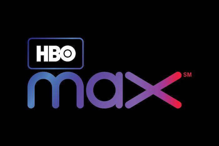 der neue streamingdienst hbo max von dem studio warner media , das logo von hbo max