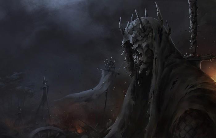 eine szene aus der serie der herr der ringe von amazon, Der Herr der Ringe - in der Amazon-Serie wird Joseph Mawle einen Bösewicht verkörpern