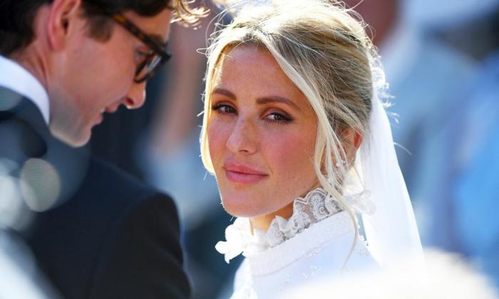 Ellie Goulding war eine schöne Braut, jetzt erzählt sie über ihre Schwierigkeiten im Leben
