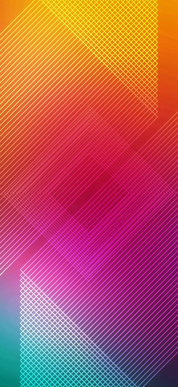 hintergrundsbilder iphone x, akstraktes wallpaper in bunten farben, background fürs handy
