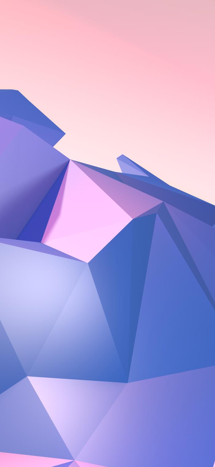 hintergrundsbilder iphone x, background ideen für apple, wallpaper in lila und rosa