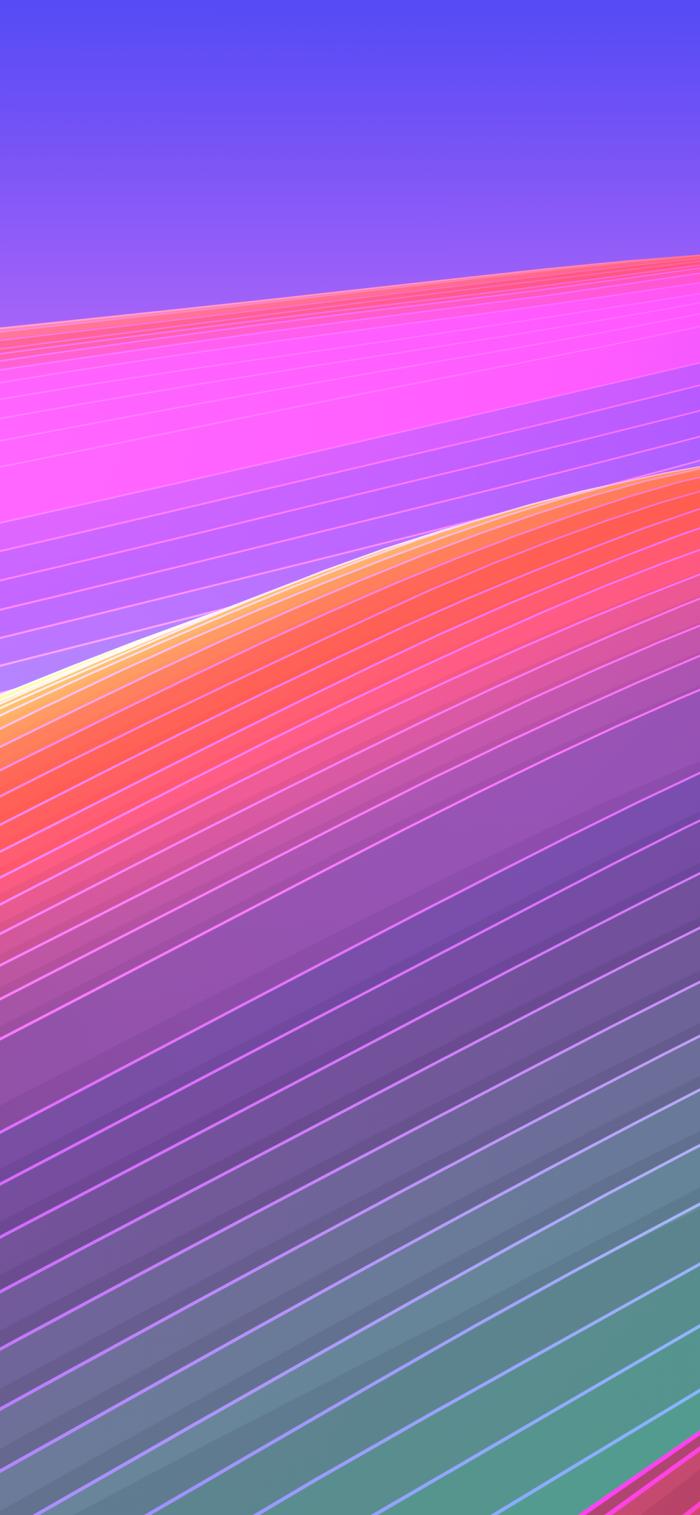 hintergrundbilder iphone x frei herunterladen, abstraktes wallpaper in bunten farben