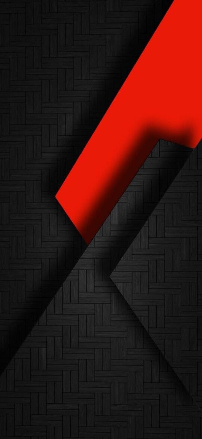 iphone wallpaper hd, abstrakter hintergrund fürs handy in schwarz und rot