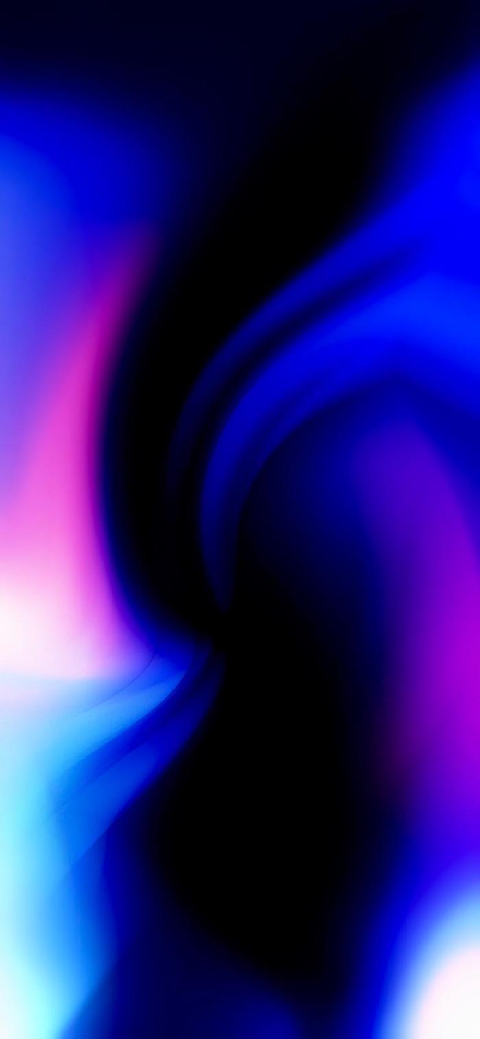 iphone wallpaper hd, rosa und blaues licht, hintergrund fürs handy frei herunterladen