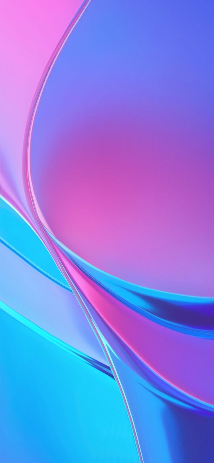 iphone x hintergrundsbild, hd wallpaper in blau und rosa, abstraktes background für apple