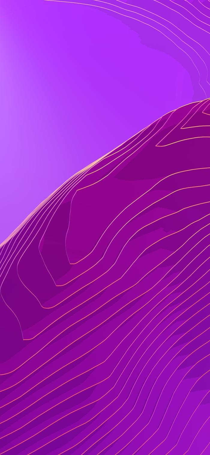 iphone x hintergrundsbild, abstraktes wallpaper in lila, hintergründe fürs handy frei