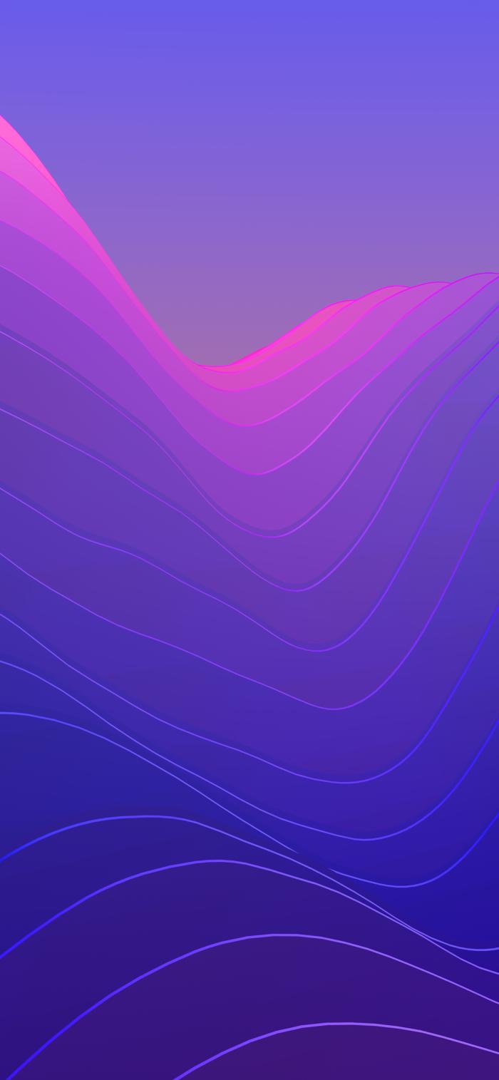 iphone x hintergrundsbild, hintergründe fürs handy frie herunterladen, wallpaper in lila und rosa