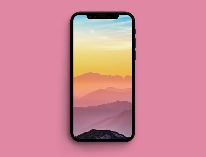 iphone x wallpaper die besten ideen, hintergrundbilder für handy, warme farben