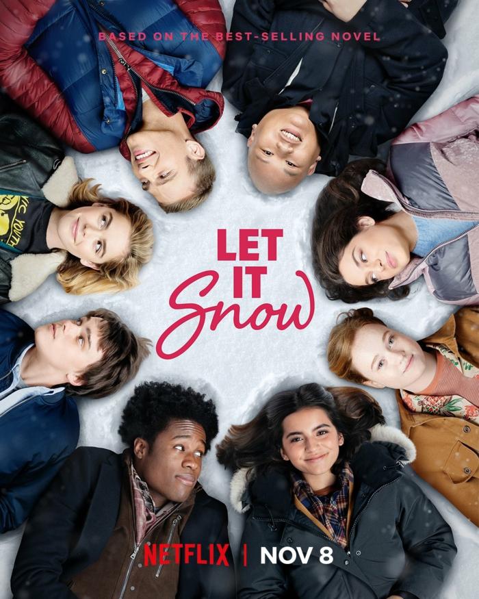 das Poster vom Film Let it snow oder Tage wie diese in deutscher Übersetzung