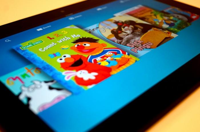 Kindle für Kinder ist mit einer Dienstleistung erhältlich, die über 20, 000 Bücher und Videos