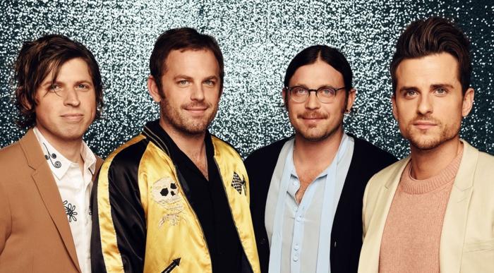 die vier Mitglieder von Kings of Leon, die auf Hurracane Festival 2020 vorbereiten