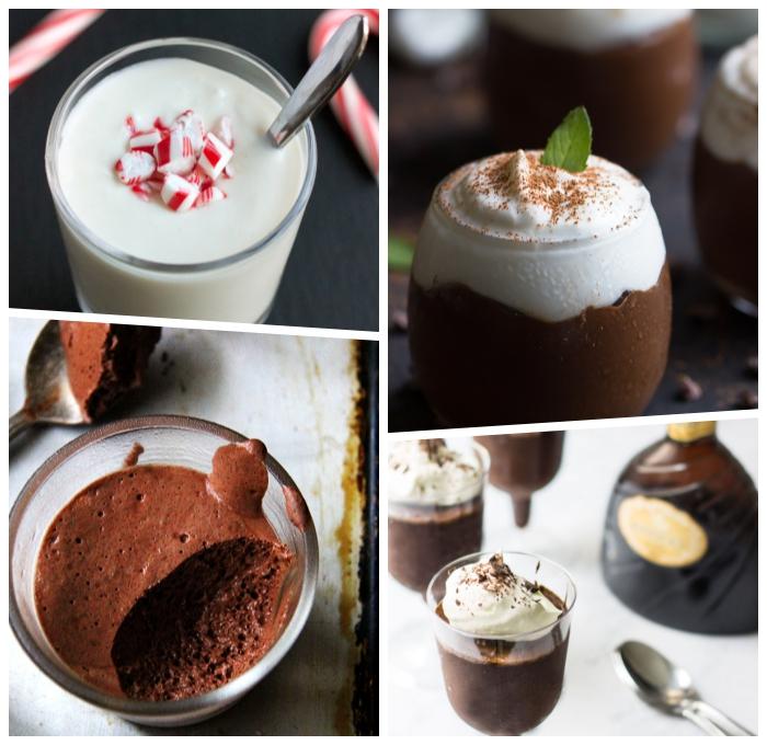 mousse de chocolate, nachtisch ideen, dessert im glas, schokoladenmousse rezepte